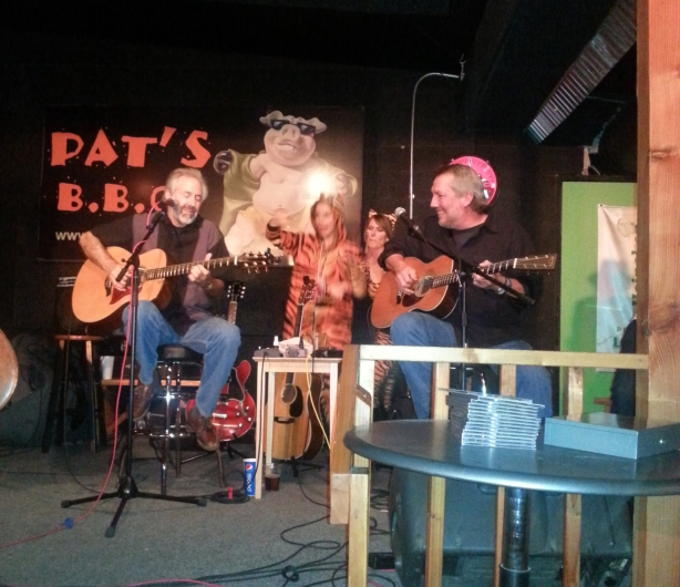 BOWB at Pat's, with dancers